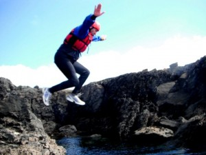 Coasteering Adventure Activity