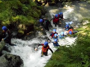Outdoor Education Centres: Gorge Walking
