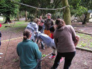 School Activity Trips: Team Initiative Games