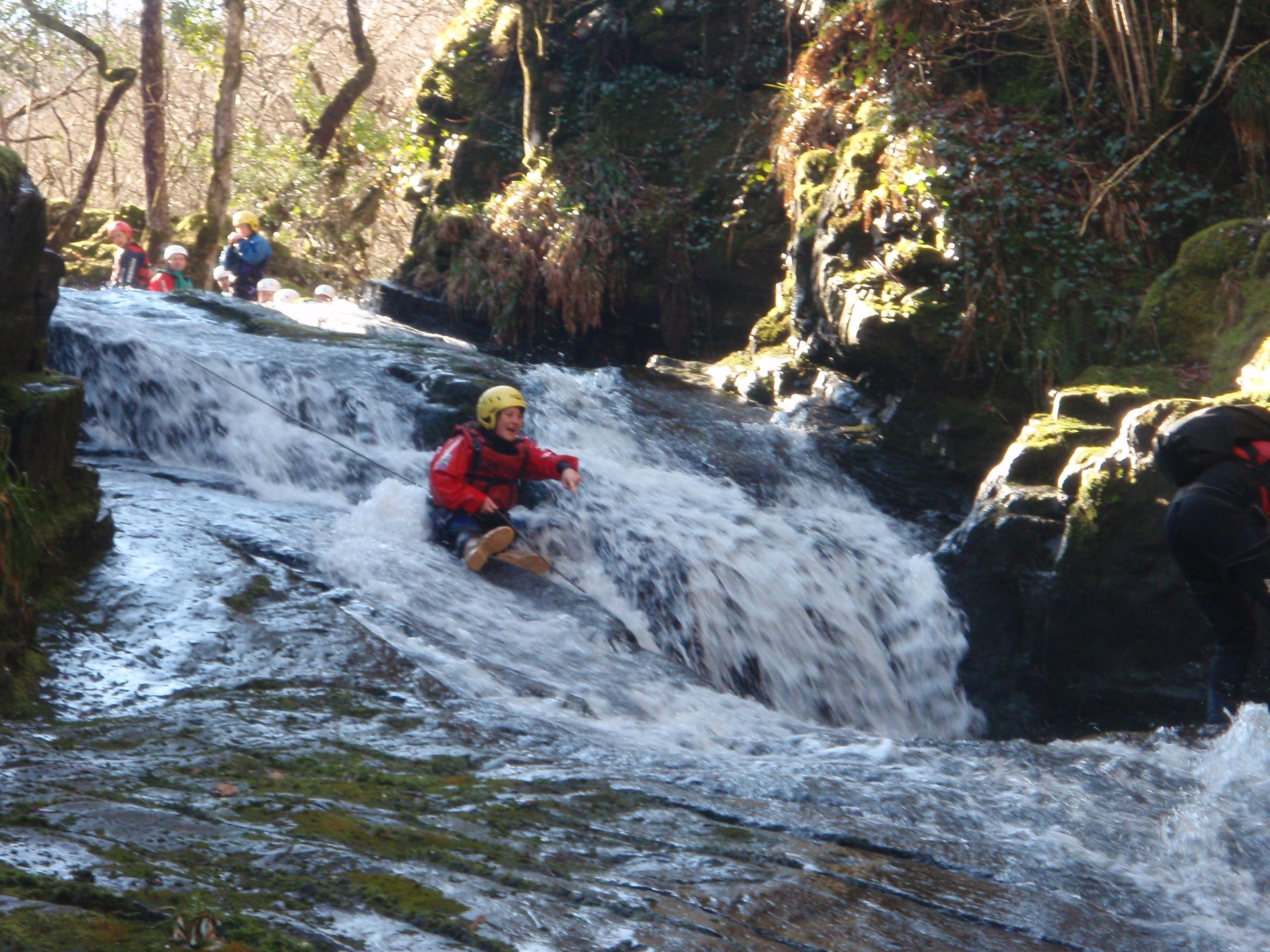Gorge Walking School Activity Trips Adventure Holidays