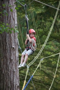 Zip Line School Residential Trip