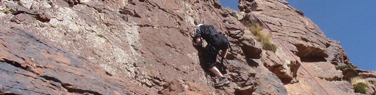 Morocco climb