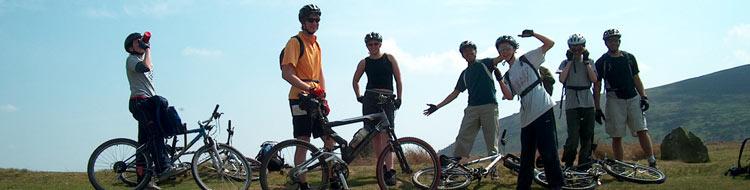 Mountain biking Cornden