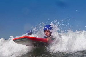 Outdoor Activities: Body Boarding