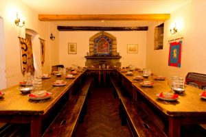 Outdoor Education Centres: St Briavels, Dinning Room